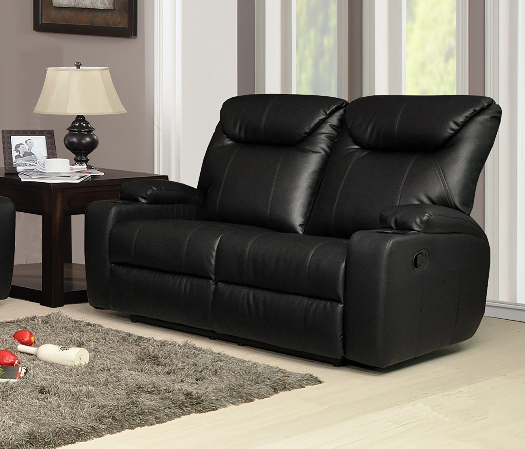 New luxury cinema lazy boy 2 seater bonded leather Leather lazy boy sofa